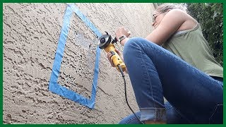 Cutting A Hole in My House
