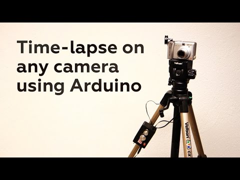 Time-lapse on any camera, using Arduino