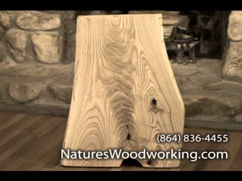handcrafted fine solid wood furniture by Nature's Woodworking