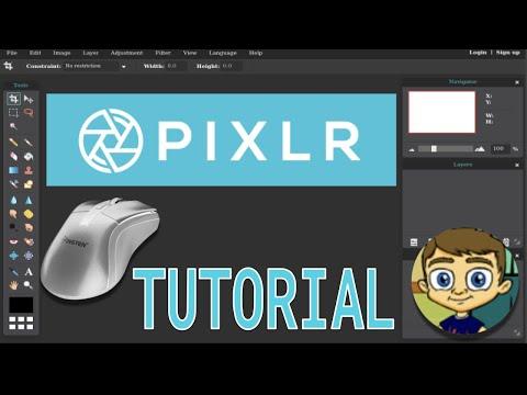 Pixlr Editor 2017 Tutorial