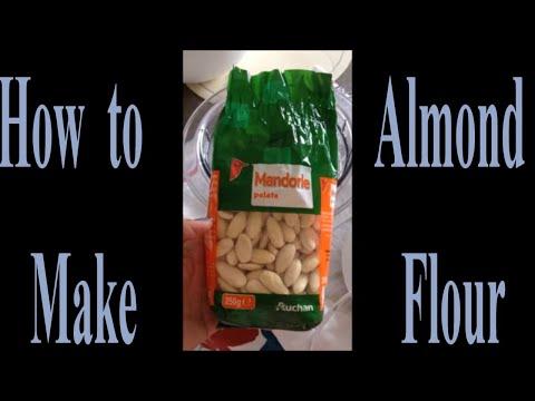 How to make ALMOND FLOUR using Bosch Chopper