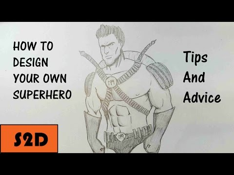 How To Design Your Own Superhero (My Process)