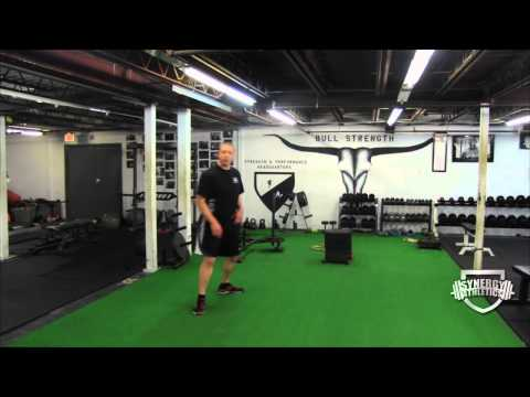 Speed Training Drills:  The Drop 'n Push Agility Exercise