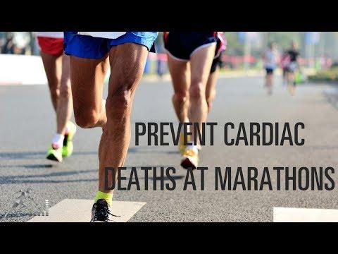 Prevent cardiac deaths at marathons