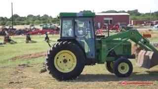 Used Tractor, TYM T554HST Cab Tractor with Backhoe Demo
