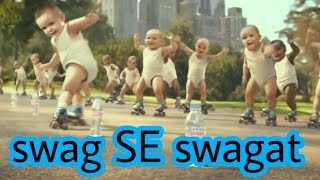 Baby dance swag se swagat