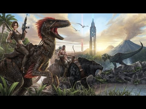 ARK SURVIVAL EVOLVED GAMEPLAY TAMING AND WALK THROUGH