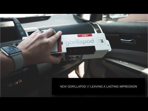 New Joby GorillaPod // Leaving a lasting impression // Sony a7riii