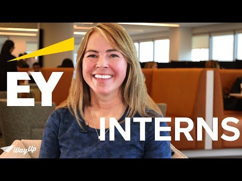 What is it like to intern at EY?