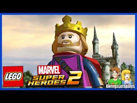 Lego Marvel Super Heroes 2 - Free Roam Adventures Part 2 King Arthur Pendragon unlocked
