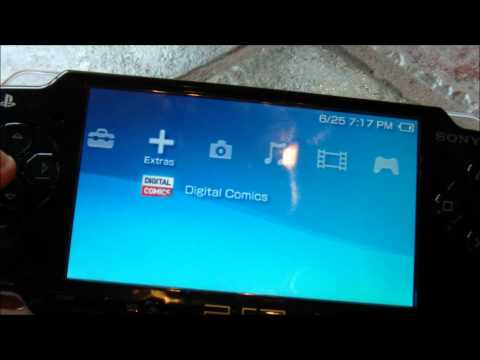 How to Connect the Sony PSP to your TV