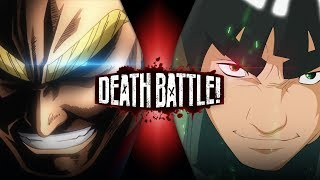 All Might vs Might Guy (My Hero Academia VS Naruto) | DEATH BATTLE!