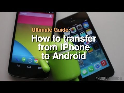 How to transfer from iPhone to Android - The Complete Guide!