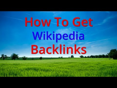 How to Get Backlinks From Wikipedia in Hindi For SEO