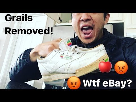 eBay Removed my $11,700 Apple Employee Sneaker Grail Listing! WTF!