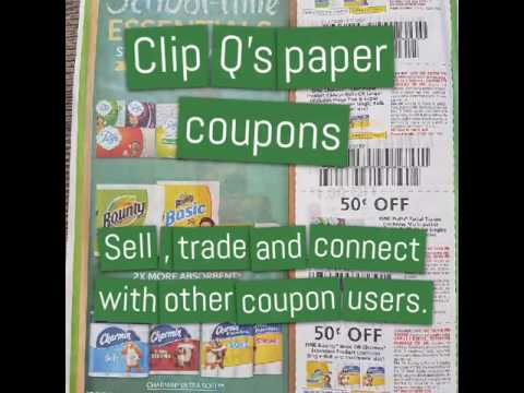 Couponing for begginers. Where to find cheap bulk coupons.  Clip Q's app