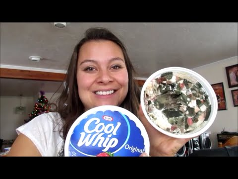 CHRISTMAS COLORED COOL WHIP!