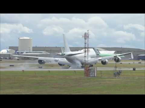 ExTransaero Now Iran Air 7478i First Flight at Paine Field