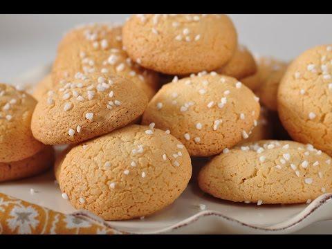 Amaretti Cookies Recipe Demonstration - Joyofbaking.com