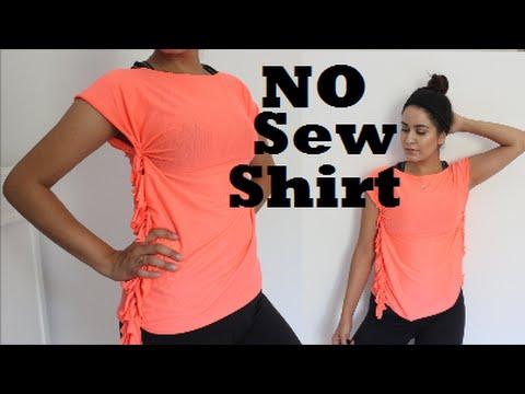 DIY: No SEW Gym SHIRT