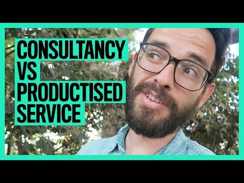 Consultancy VS Productised Service
