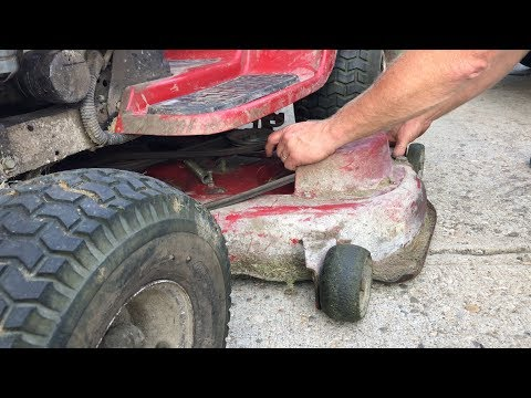 Toro electric clutch test...blades not spinning fix
