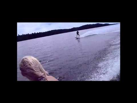 Bens Wakeboard Crash Into Boat