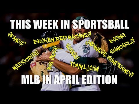 This Week in Sportsball: MLB In April Edition