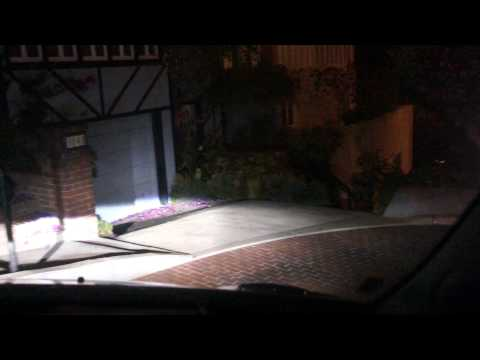 drive down lombard street at night - san francisco tourist