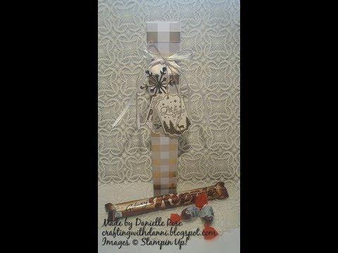 Elegant christmas gift box