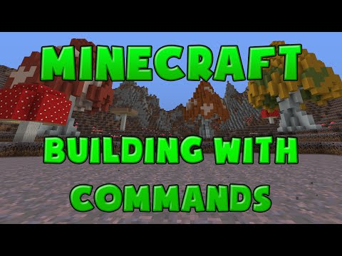 Minecraft Tutorial - Building With Vanilla Commands