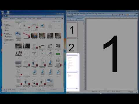 09 Inserting files (Office, TIFF, PDF etc) as pages or figures in PixEdit as a PDF or TIFF.