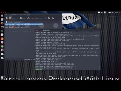 Install Nutty Monitoring Network On Linux ubuntu 15.10