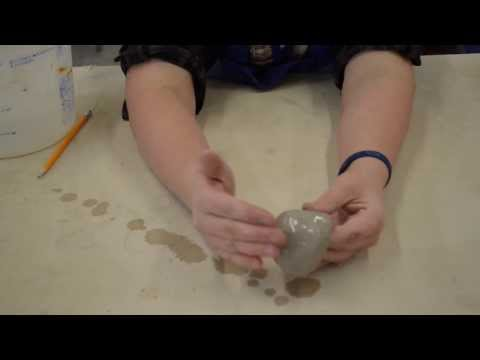 Intro to pinch pots and terms to describe clay.