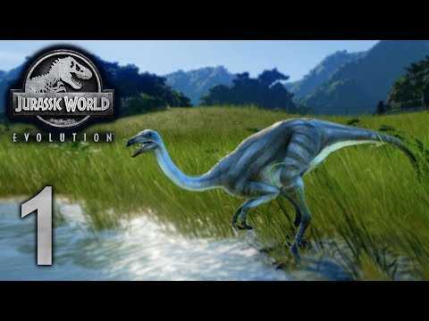 Jurassic World Evolution - Part 1 - SKINNY NECK BOI