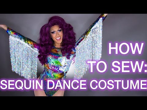 How to Sew a Sequin Dance Costume (With Fringe!)