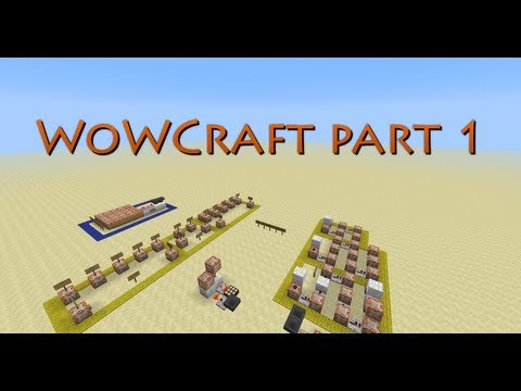 Creating WoW/Skyrim online/any MMO in Vanilla Minecraft part 1