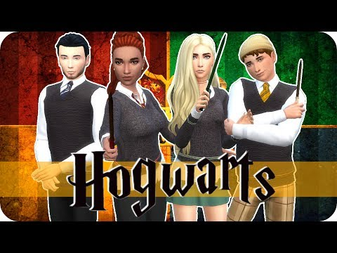 Sims 4 Create A Sim | Hogwarts Houses (from Harry Potter)