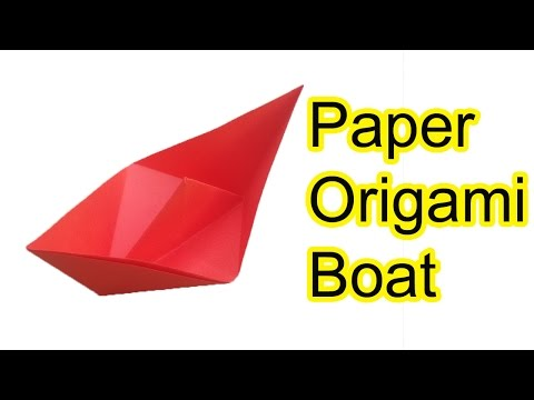 how to make an origami boat, how to fold a paper boat, how to make a boat with paper