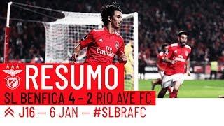 HIGHLIGHTS: SL BENFICA 4-2 RIO AVE