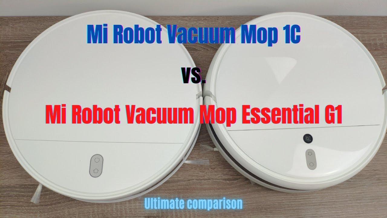 Xiaomi Mi Robot Vacuum-Mop 1C vs. Mi Robot Vacuum Mop Essential G1: Which one is better?