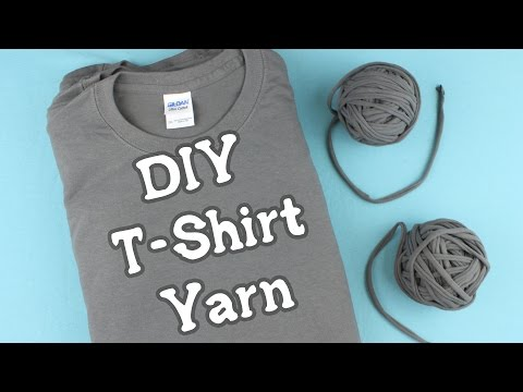 Make Your Own T-Shirt Yarn