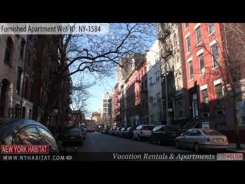 Manhattan, New York City - Video tour of a furnished apartment on East 12th Street (East Village)