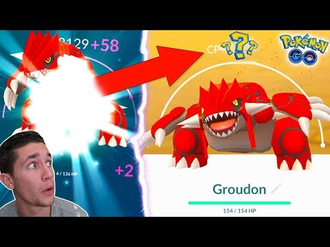 Xxx Mp4 FIRST EVER LEGENDARY OVER 4 000 CP MAXING OUT GROUDON IN POKÉMON GO 3gp Sex