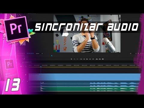 SINCRONIZAR AUDIO   Cap: 13   Curso Adobe Premiere Pro CC 🎬