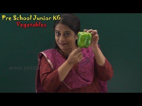Let's Learn About Vegetables   Learn Vegetables For Kids   Pre School Junior   Vegetables Song