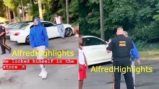 Skinnyfromthe9 SHOCKING new Snitching footage GOES VIRAL, quickly acts Tough when He sees the Camera