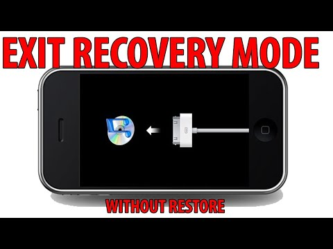 Exit recovery mode without losing data