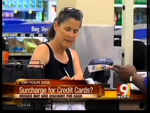 Kroger considers charging credit card users more