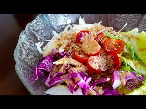 Sesame Dressing Salad Pasta